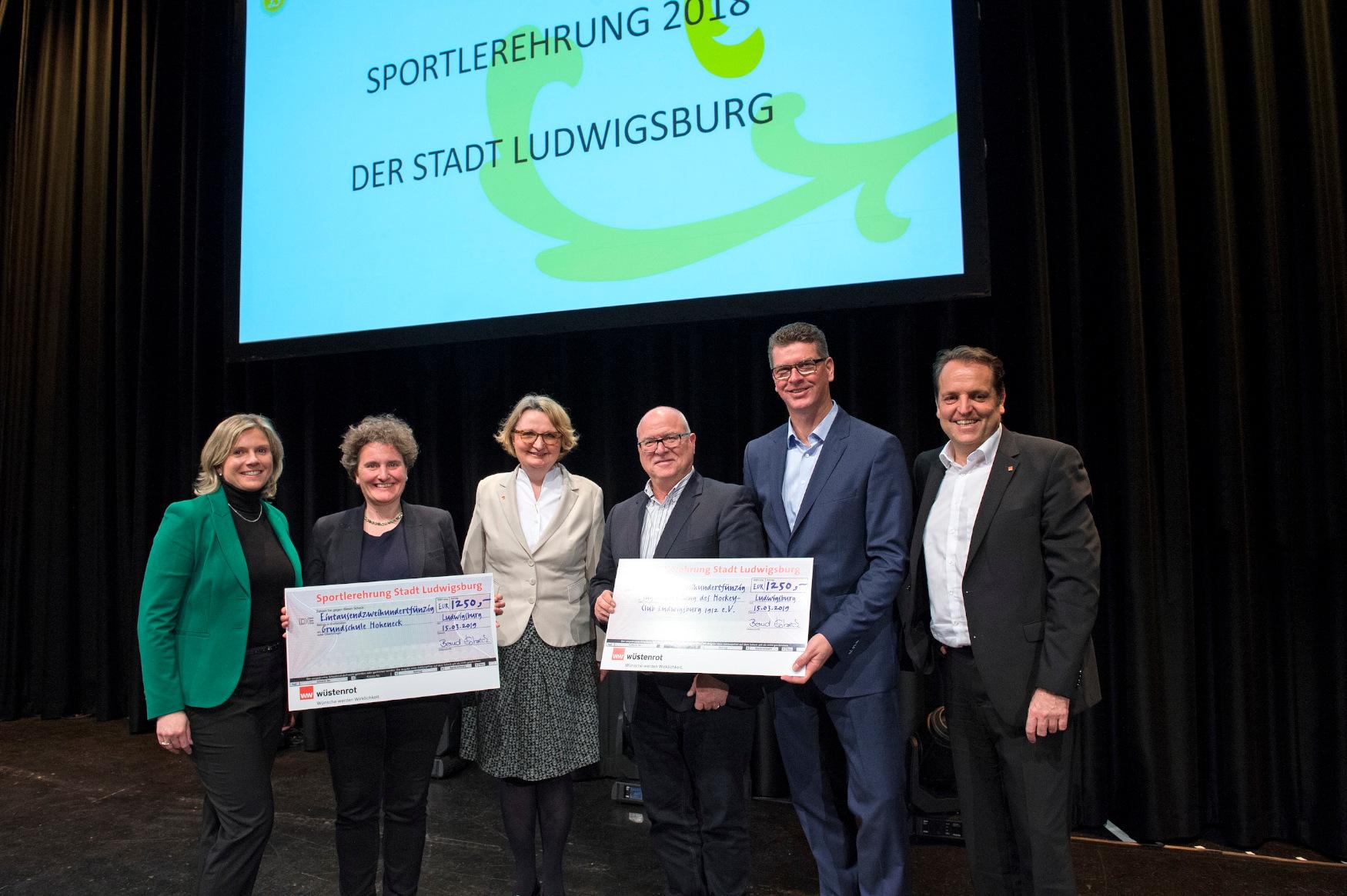 Bernd Hertweck und Wüstenrot unterstützen Jugendarbeit