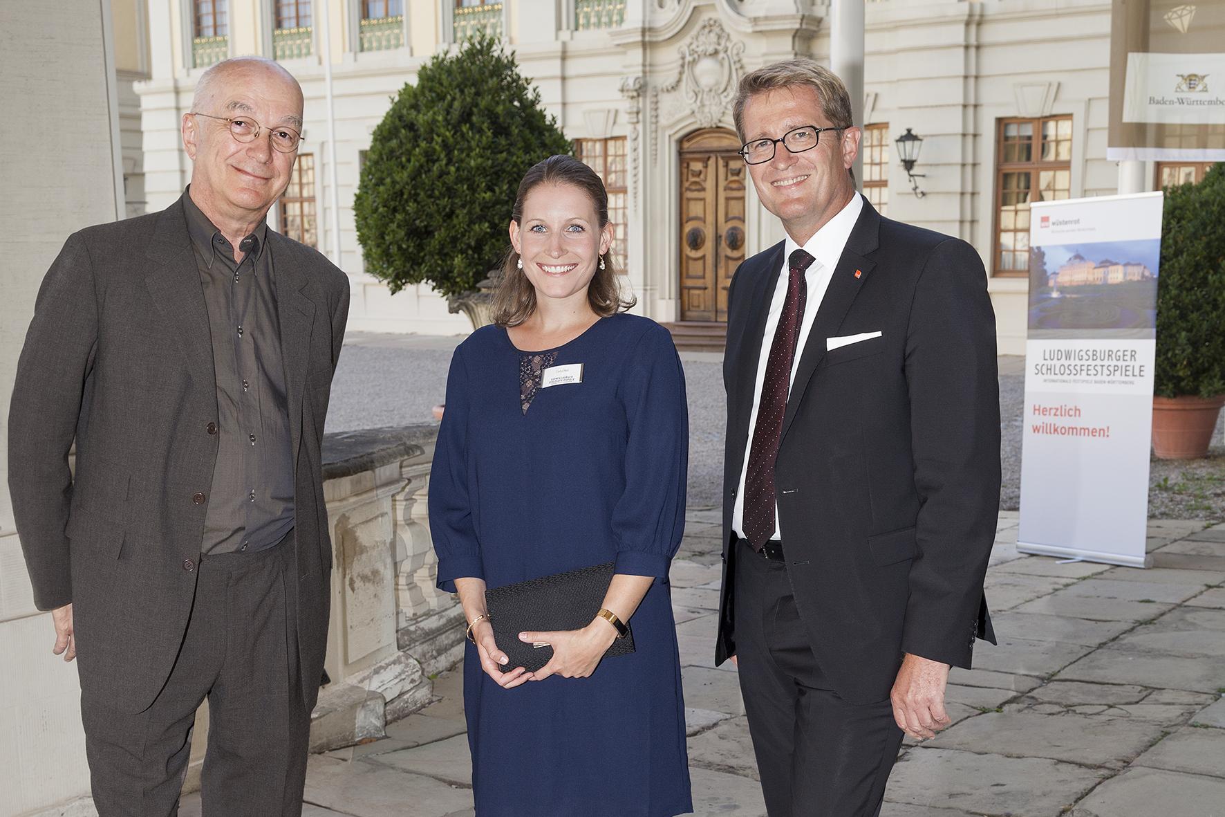 Bernd Hertweck, Thomas Wördehoff und Lena Heil