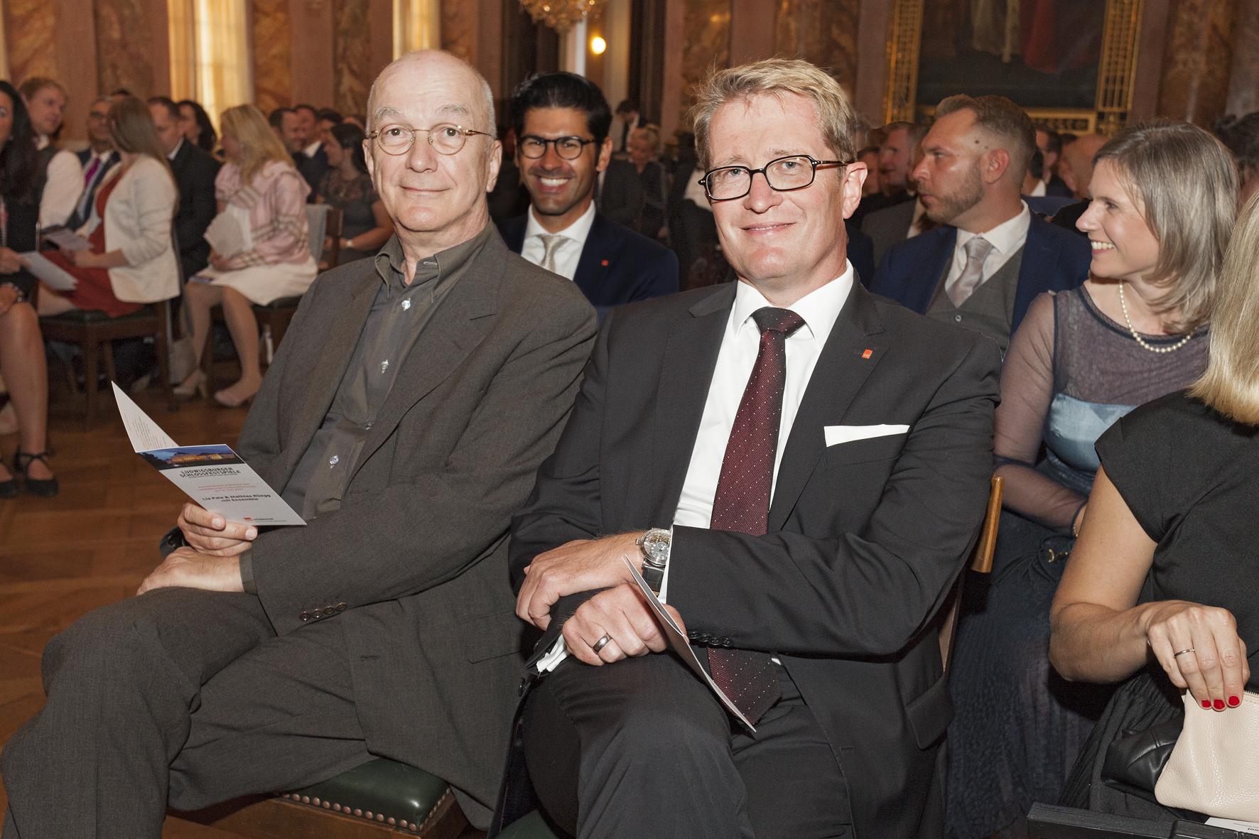Bernd Hertweck und Thomas Wördehoff freuen sich auf den Liederabend.